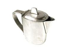 Berndorf ezüst art deco fedeles kiöntő Nicro® 18/8 FH jelzéssel