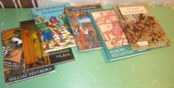Képes Történelem sorozat - 9 db - Móra Ferenc Könyvkiadó