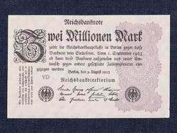UNC német 2 millió márka 1923/id 7585/
