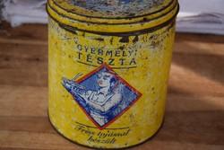Antik Gyermelyi tészta dobos plé doboz tároló