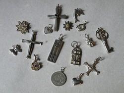 KK221 -  15 db ezüst medál mind szép állapotú