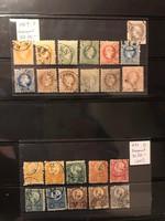 1867-2018 magyar bélyeggyűjtemény (1940-1944 és 1958-2018 TELJES ÉVJÁRATOK) albumokkal