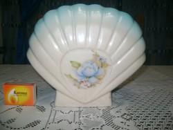 Régi legyező formájú váza