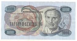 1000 schilling 1961 Ausztria Victor Kaplan Ritka 1.