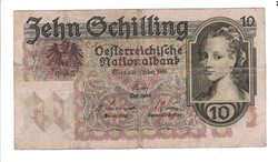 10 schilling 1946 Ausztria