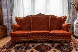 Barokkos ülőgarnitúra 3+1+1