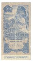 10 schilling 1945. Ausztria 2. kiadás kövér sorozatszám
