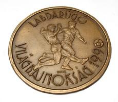 Kutas László,Labdarúgó Világbajnokság 1990 plakett.