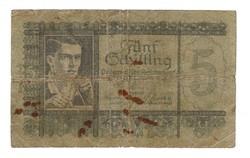 5 schilling 1951 Ausztria Ritka