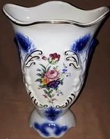 Román porcelán gyönyörű nagy hibátlan váza 24 cm magas!