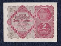 Osztrák 2 korona 1922 hajtatlan/id 6562/