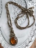 Ezüst nyaklánc+medál  925