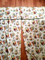 3db-os vászon konyhai drapéria