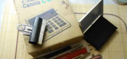 Retró Írószer Csomag!+Ajándék Faber Castell  Mérő (Vonalzó)