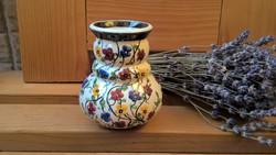 Antik Városlődi virágos váza