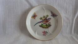 Herendi porcelán pillangós madaras tálka