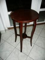 Antik szecessziós asztalka / posztamens / virágállvány nagyon stabil állapotban