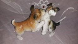 Ens porcelán kutyusok