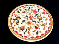 Antik Zsolnay perzsa mintás asztalközép