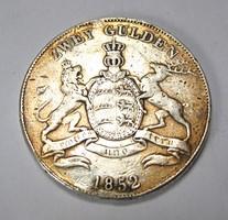 WÜRTTEMBERG 2 Gulden 1852