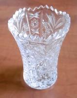 Kristály váza, kicsi