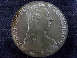 Mária Terézia szép ezüst SF tallér 1780/id 5616/