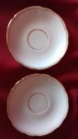 Porcelán mokkás kistányér, alátét  - hiánypótlásra