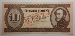 5000 forint 1993 J MINTA UNC