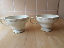 """Régi Selb Rosenthal """"Pompadour"""" porcelán csésze teáscsésze darabra"""