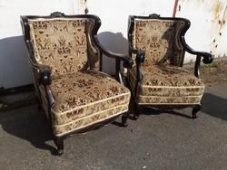 2 db. Neobarokk fotel