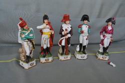 Napóleon szobrok - 5 db