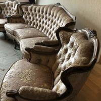 Warrings chippendél barok 3 darabos ülőgarnitura