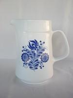 Alföldi porcelán kék virágos kancsó