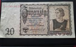 1939-es 20 Mark (REICHSMARK)