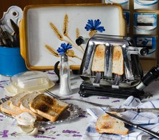 Elekthermax kenyérpirító - működik