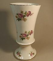 Angol kehehy váza  rózsa mintával szépséges
