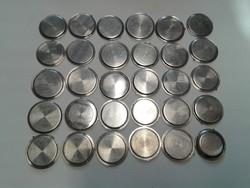 Karóra szerkezeti elem, acél hátlap, 30 db vegyesen