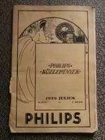 Philips közlemények 1928 július