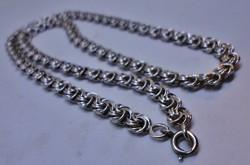 Csodálatos antik mintás  ezüstnyakék
