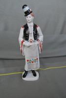 Hollóházi porcelán - Fiú népviseletben