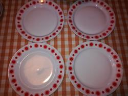 4 db Alföldi napocskás lapos tányér