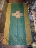 nagyméretű címeres  zászló 182 cm