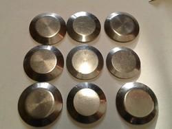 Karóra szerkezeti elem, acél hátlap, 9 db vegyesen