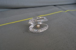 Swarovski kristály kagyló