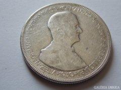 1930. évi ezüst 5 pengő F/VG 5