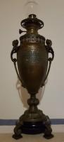 R.Ditmar Wien régi petróleum olaj lámpa Ritka nagy méretű