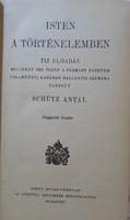 Schütz Antal: Isten a történelemben (1943; Katolikus Egyház; ex libris)