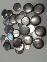 Karóra szerkezeti elem, acél hátlap, 50 db vegyesen