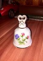 Hollóházi csengettyű porcelán
