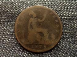 Anglia - Viktória One Penny 1878 (id7878)